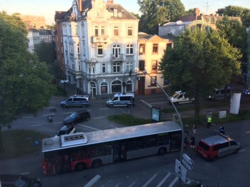 Blick aus Fenster G20